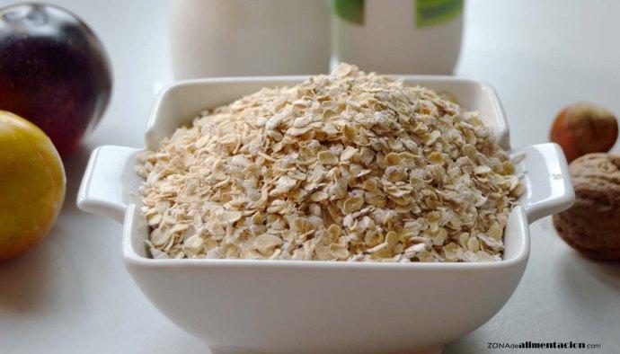Avena, calorías, índice glucémico y valor nutritivo