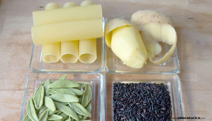 ¿Qué alimentos contienen carbohidratos o hidratos de carbono? - nutrientes - alimentación consciente