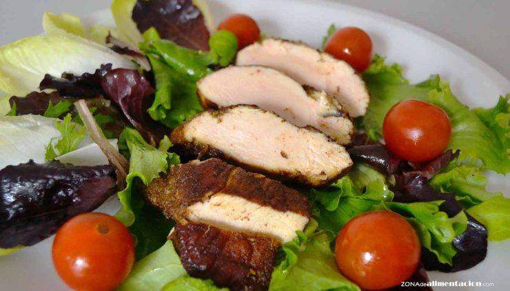 recetas ligeras de proteínas