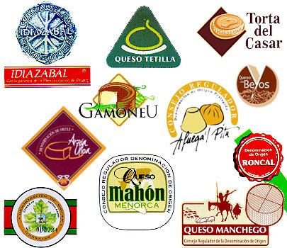 Denominaciones de origen de quesos españoles