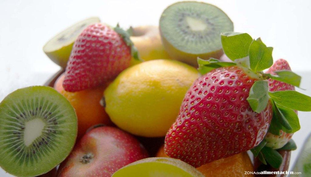calorías, índice glucémico y valor nutritivo o nutricional y propiedades de las frutas