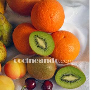 Frutas: calorías, índice glucémico y valor nutritivo