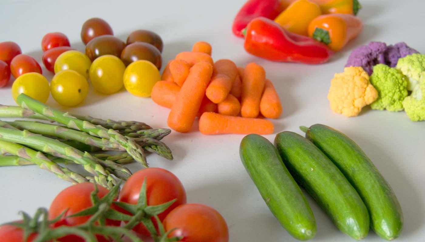 Hortalizas: tabla de calorías, índice glucémico y valor nutritivo