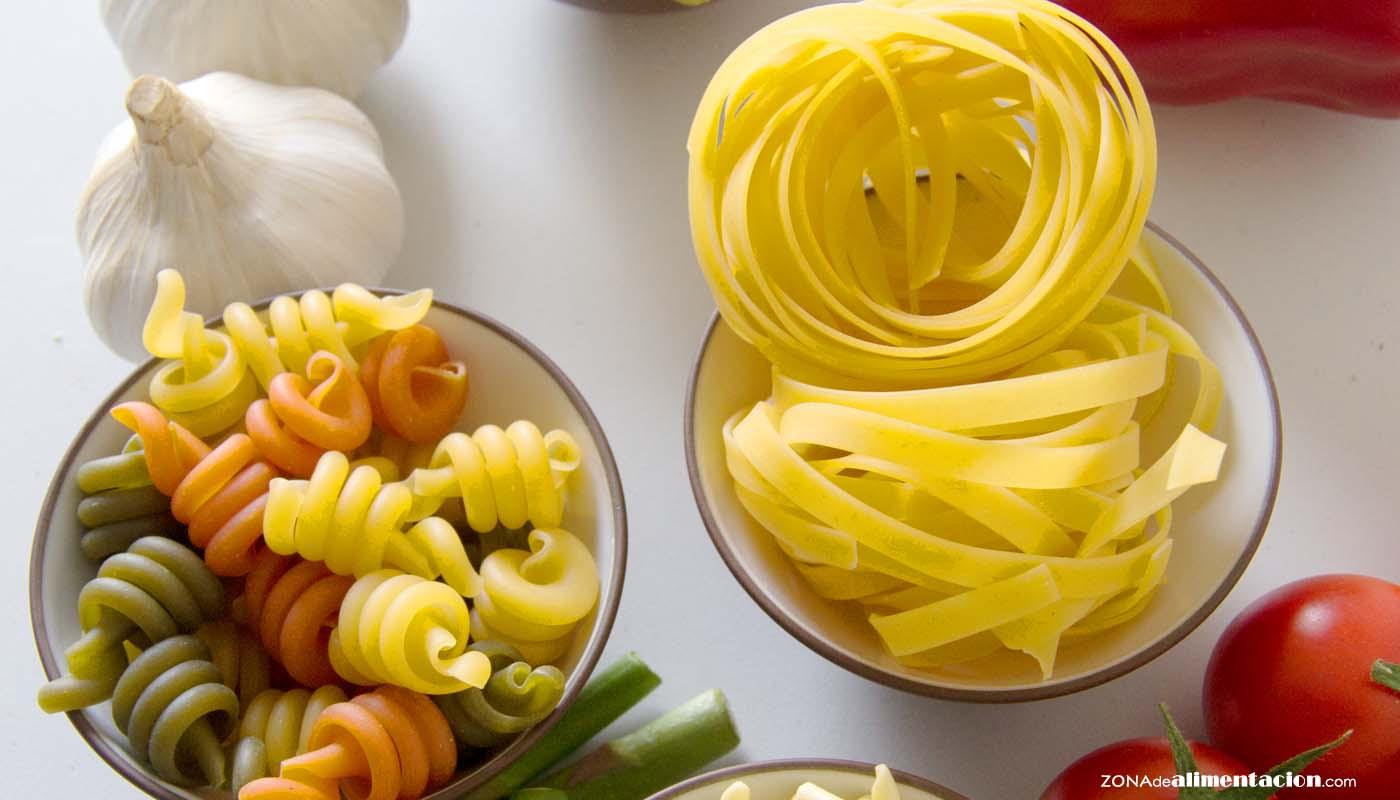 Pasta: calorías, índice glucémico y valor nutritivo