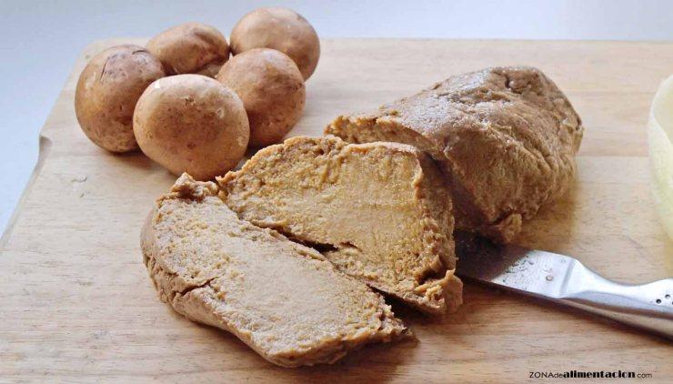 Nueve alimentos que son fuente de proteínas vegetales: seitán