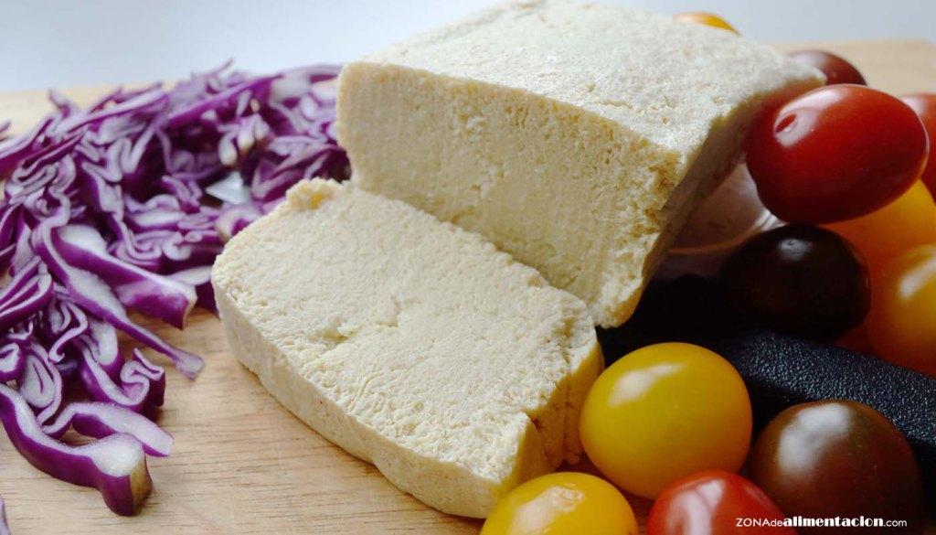 calorías, índice glucémico y valor nutritivo o nutricional y propiedades del tofu - que es el tofu