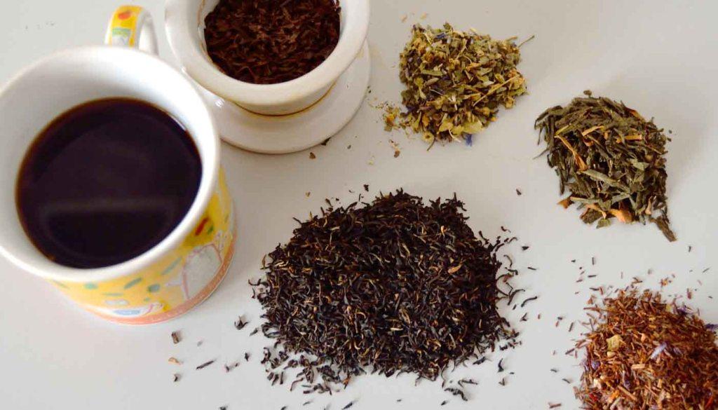 propieades de los tés - diferencias entre té blanco, té verde, té rojo y té negro - que son los alimentos funcionales