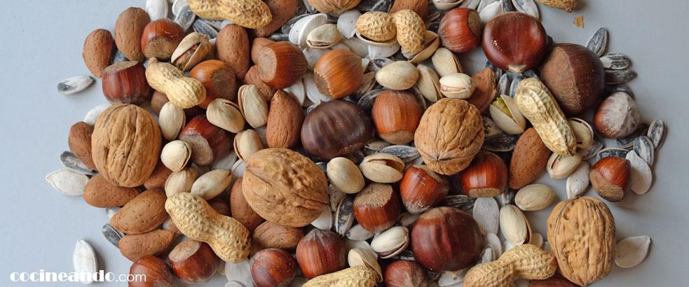 Diez alimentos de bajo índice glucémico: frutos secos