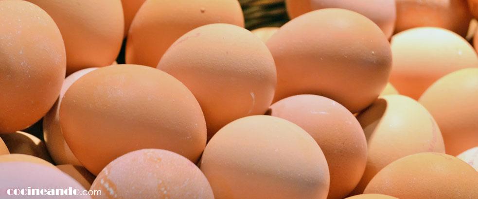 Diez alimentos de bajo índice glucémico: huevos