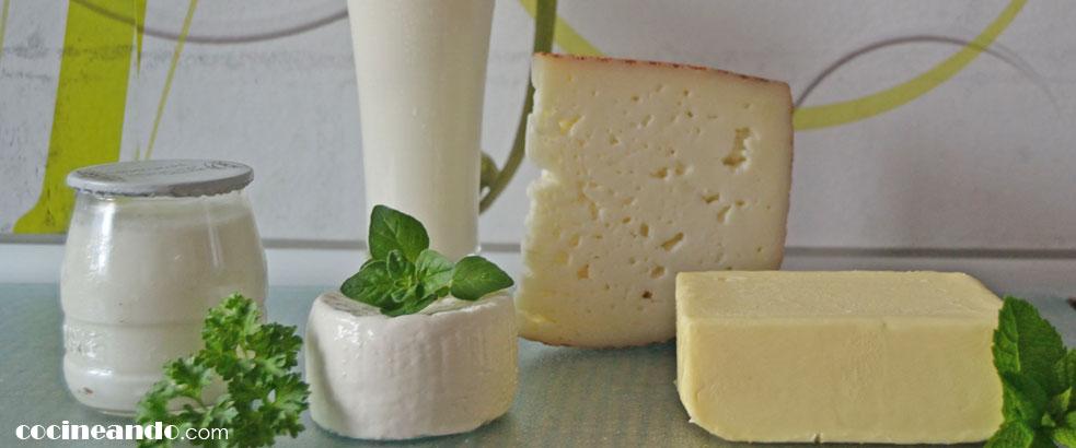 Diez alimentos de bajo índice glucémico: leche y lácteos