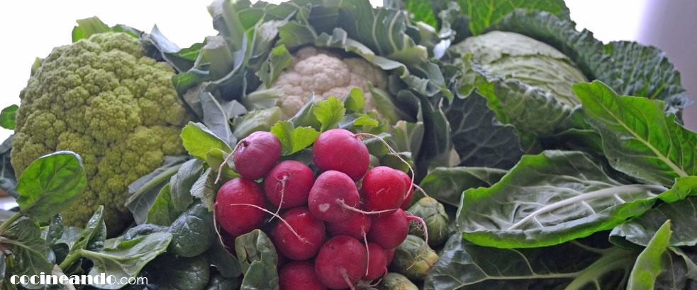 Diez alimentos de bajo índice glucémico: verduras y hortalizas