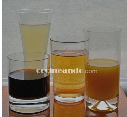Las bebidas que más quitan la sed