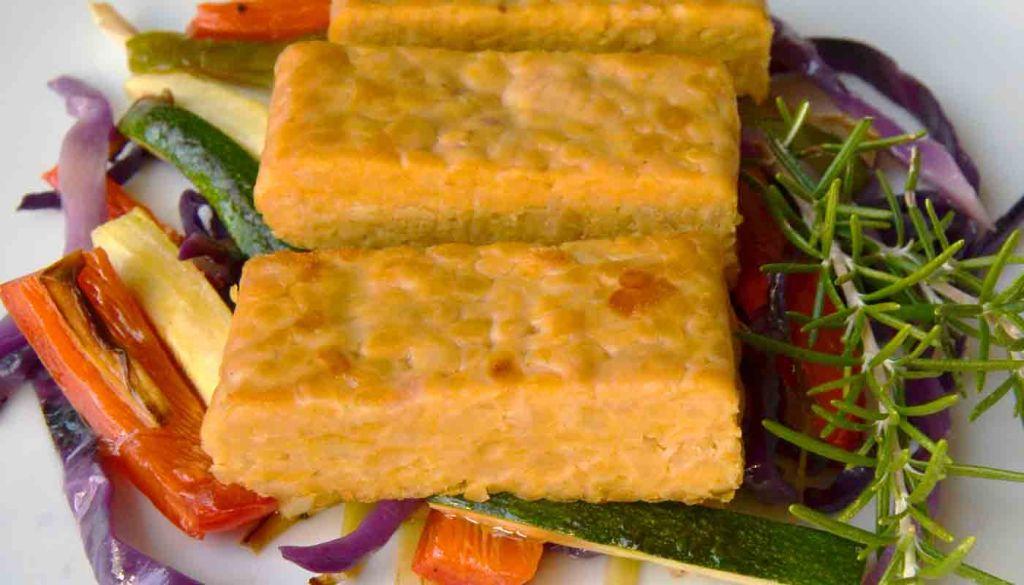 Recetas de tempeh y otras proteínas vegetales
