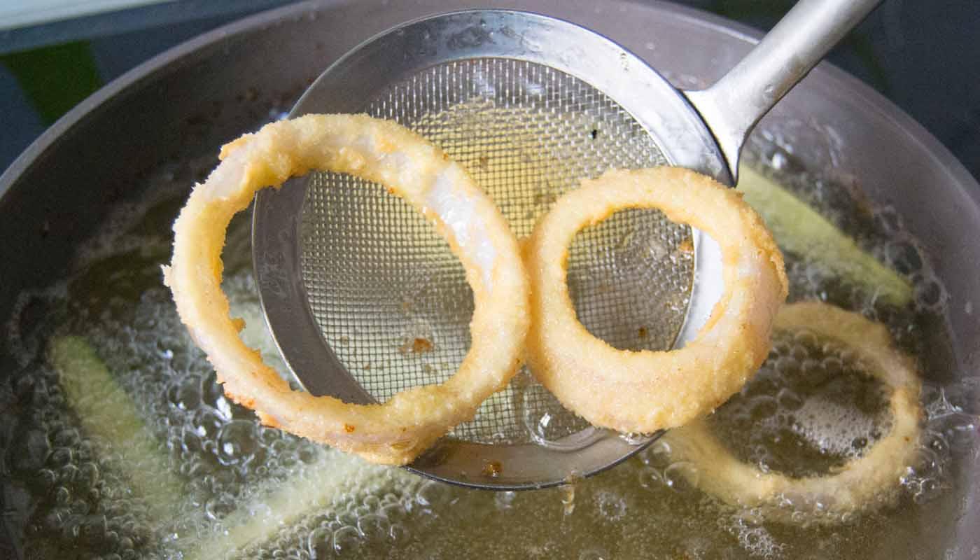 como hacer una fritura sana