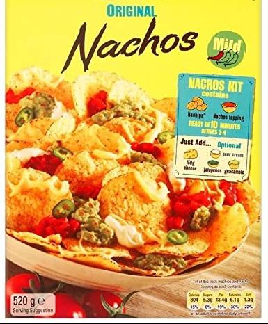 Algunos ejemplos de comida que creemos mexicana y es tex-mex - Ojo con procesados que se venden como comida mexicana!: muchos no lo son