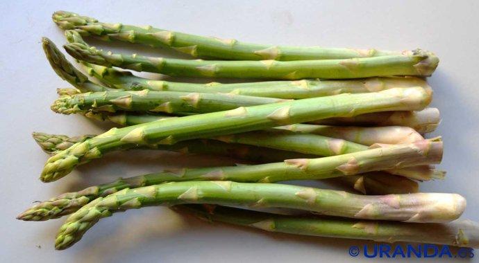 Espárragos: calorías, índice glucémico y valor nutritivo - calendario de frutas y verduras de temporada por meses