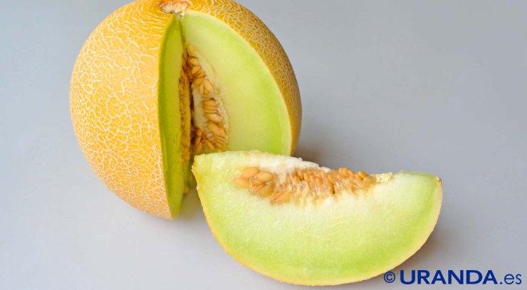 Las ocho frutas más diuréticas y depurativas - melón