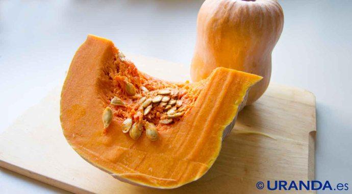 Calabaza: calorías, índice glucémico y valor nutritivo
