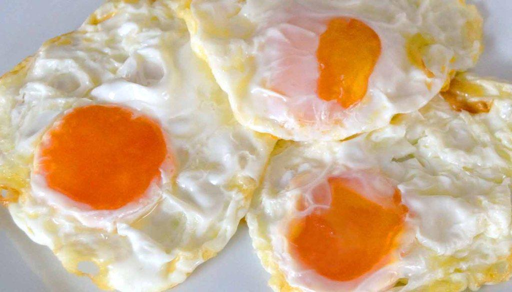 calorías, índice glucémico y valor nutritivo o nutricional y propiedades de los huevos