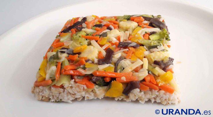 Receta de avena con verduras guisadas a la cúrcuma - recetas con avena - recetas vegetarianas y veganas