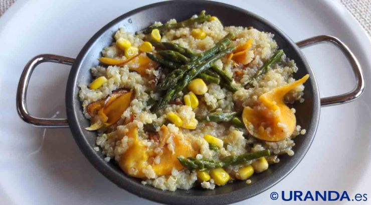 Receta de quinua o quinoa