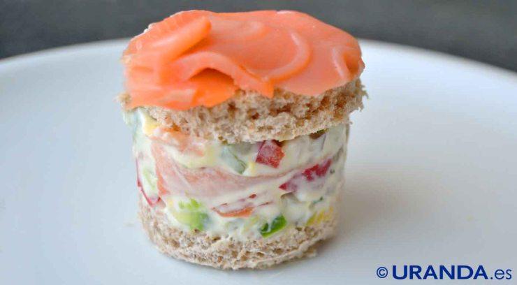 ¿Cómo debe ser el bocadillo o sándwich saludable?