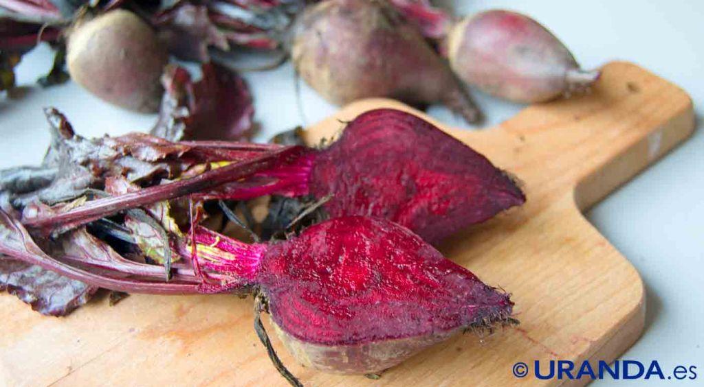 Las diez verduras y hortalizas más diuréticas y depurativas: remolacha