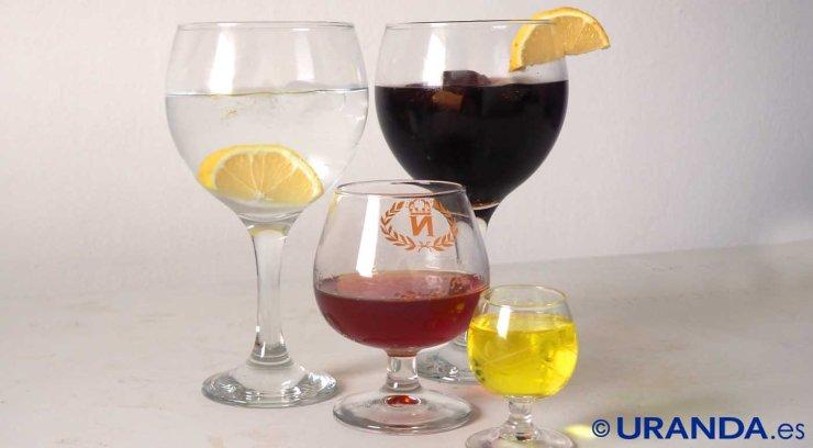 Calorías de los principales licores y bebidas espirituosas